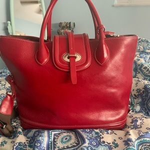 Red Dooney and Bourke purse